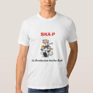 Ska-P. La Revolucion hecha Rock T Shirts