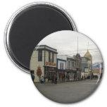Skagway, Alaska 6 Cm Round Magnet