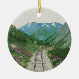 Skagway Railroad Ornament