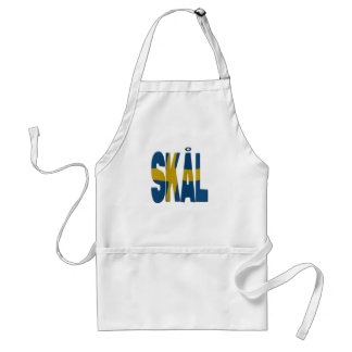 Skål cheers - Swedish Standard Apron
