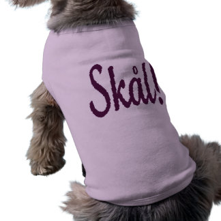 Skal Norwegian Cheers Doggie Shirt