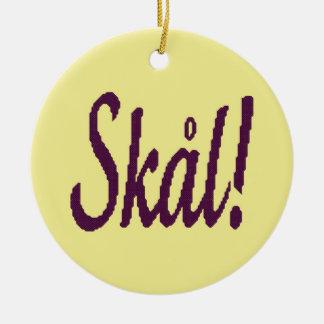 Skal Norwegian Cheers Ornament