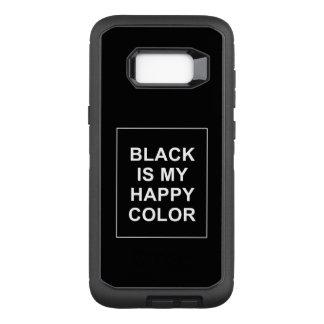 SKAM - BLACK IS MY HAPPY COLOR OtterBox DEFENDER SAMSUNG GALAXY S8+ CASE