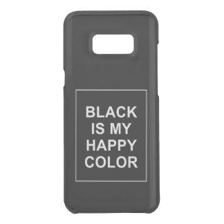 SKAM - BLACK IS MY HAPPY COLOR UNCOMMON SAMSUNG GALAXY S8 PLUS CASE