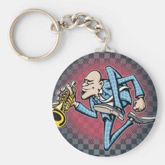 Skamania Basic Round Button Key Ring