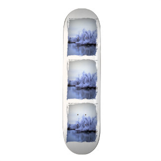 Skate Board Willow Winter Wonderland