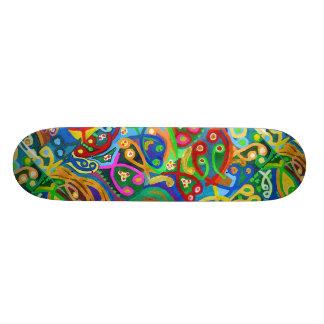 Skate Borarding Deck Type 7¾ art by NAVIN JOSHI Custom Skateboard