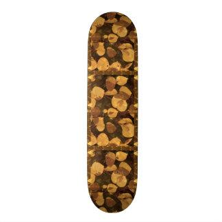 "Skate Borarding Deck Type: 7¾"" GOLDEN LEAF FALL Skateboard Deck"