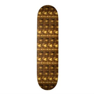 Skate Borarding Deck Type 7¾ VINTAGE GOLD Skateboard Deck