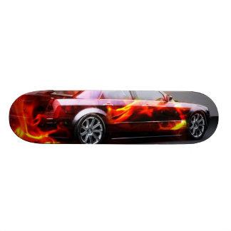 skate car custom skateboard