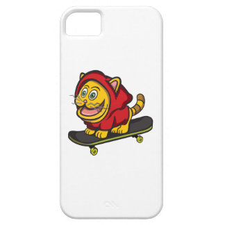 Skate Cat Barely There iPhone 5 Case