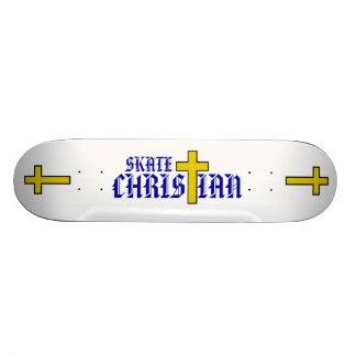 Skate Christian 20.6 Cm Skateboard Deck