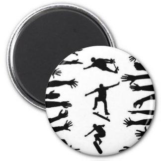 Skate Crowd Magnets