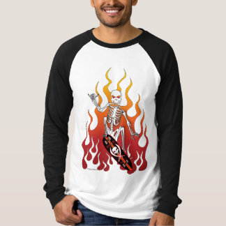 """Skate Death"" Men's Long Sleeve T-shirt"