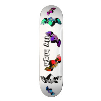 skate fly high- patineta flies stop 21.3 cm mini skateboard deck