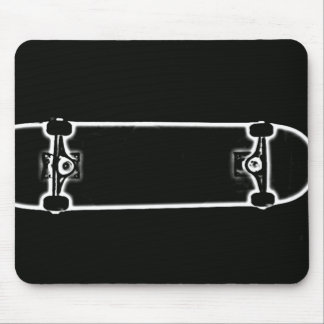 Skate Ghost Mouse Mat