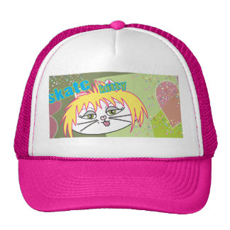 Skate Kitty love Cap