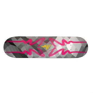 skate land 18.1 cm old school skateboard deck