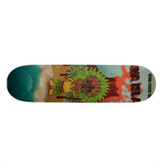 Skate lava island skate board decks