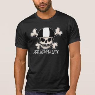 Skate or die skull and crossbones T-Shirt