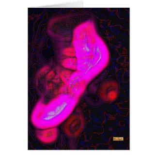 Skate Pink Greeting Card
