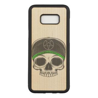 Skate Rock Skull Carved Samsung Galaxy S8+ Case