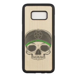 Skate Rock Skull Carved Samsung Galaxy S8 Case