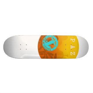 Skate Shape Peace in Exclusive Rio De Janeiro Aya 21.6 Cm Old School Skateboard Deck