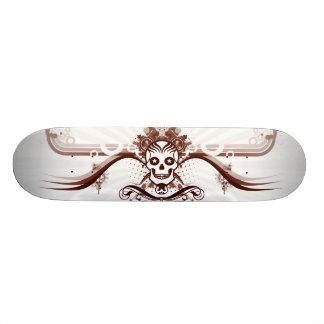 """Skate """"smiling Skull """" Custom Skateboard"""