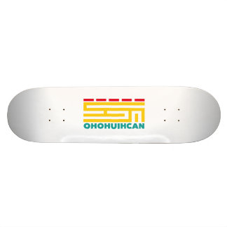 Skate table Logo OHOHUIHCAN 19.7 Cm Skateboard Deck