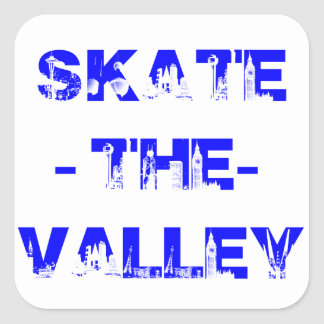 skate the valley city sticker