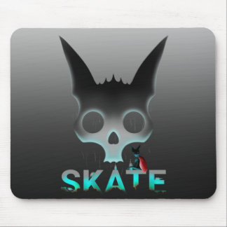 Skate Urban Graffiti Cool Cat Mouse Mat