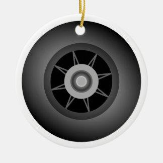 Skate Wheel Christmas Ornament