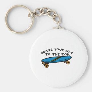 Skate Your Way Keychain