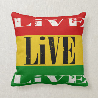 Skateboaders Live Live Live Throw Pillow Throw Cushions
