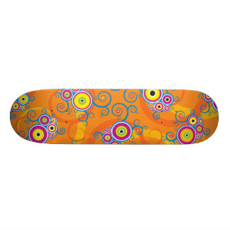 Skateboard Arc Vines Fiesta