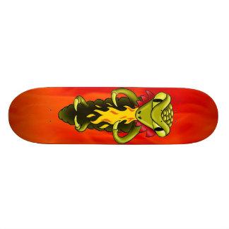 skateboard base  dragon by highsaltire