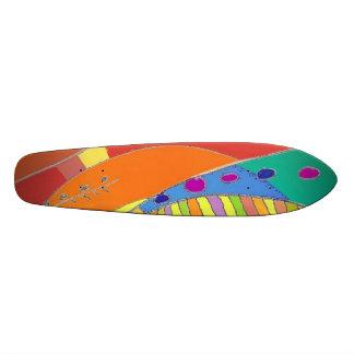 Skateboard Bold Organic Design 1