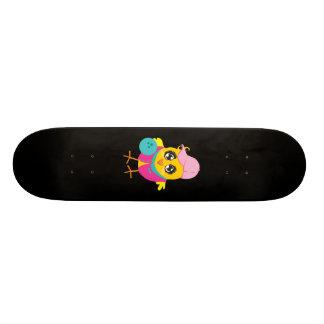 Skateboard Bowling Chick