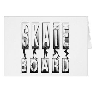 skateboard card