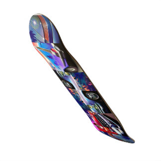 Skateboard - Classic Cars Graphic