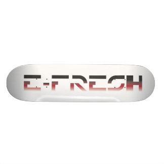 SkateBoard Deck E-Fresh RED