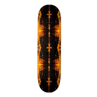 Skateboard Deck; Mutant X-RAY Design, Amber