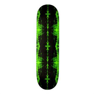 Skateboard Deck; Mutant X-RAY Design, Toxic Green