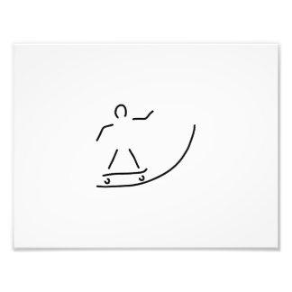 skateboard driver halfpipe art photo