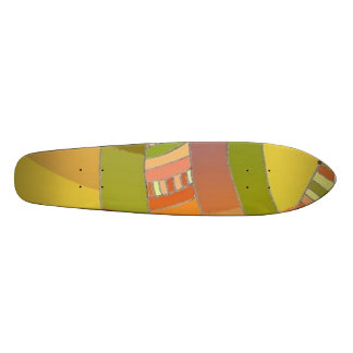 Skateboard  Ethnic Design 3 Multicolour