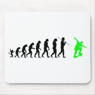 skateboard_evolution mouse pad
