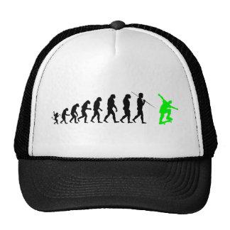 skateboard_evolution trucker hat