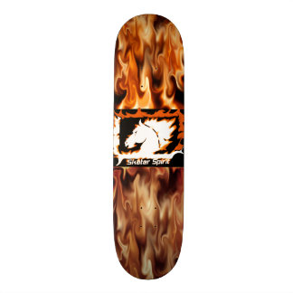 "# skateboard fire ""Skater Spirit """