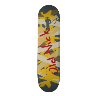 skateboard graphic Old Nick